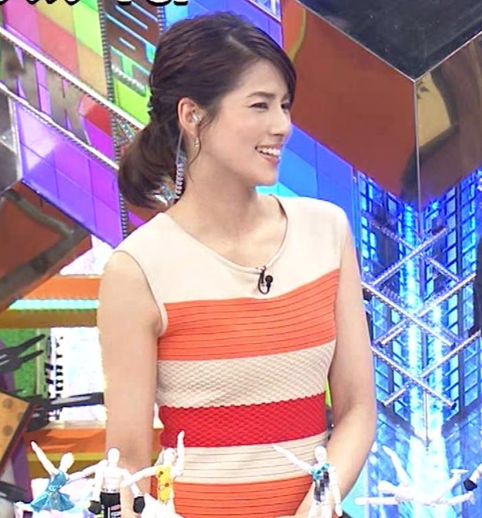 永島優美アナ 夜の番組はさらにエロい衣装を着てるキャプ・エロ画像8