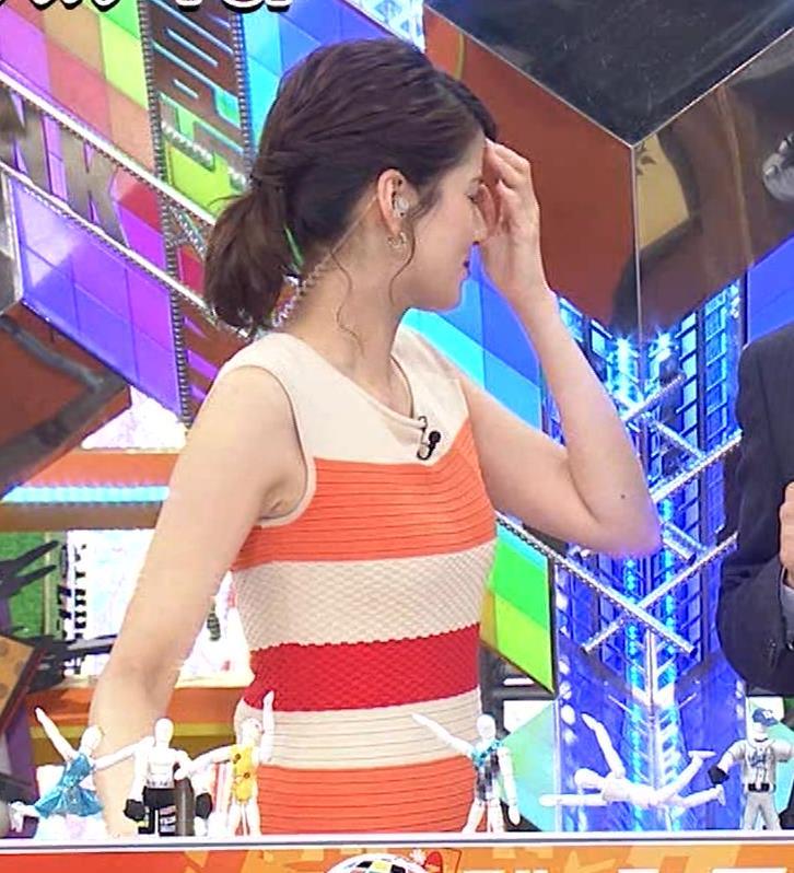 永島優美アナ 夜の番組はさらにエロい衣装を着てるキャプ・エロ画像10