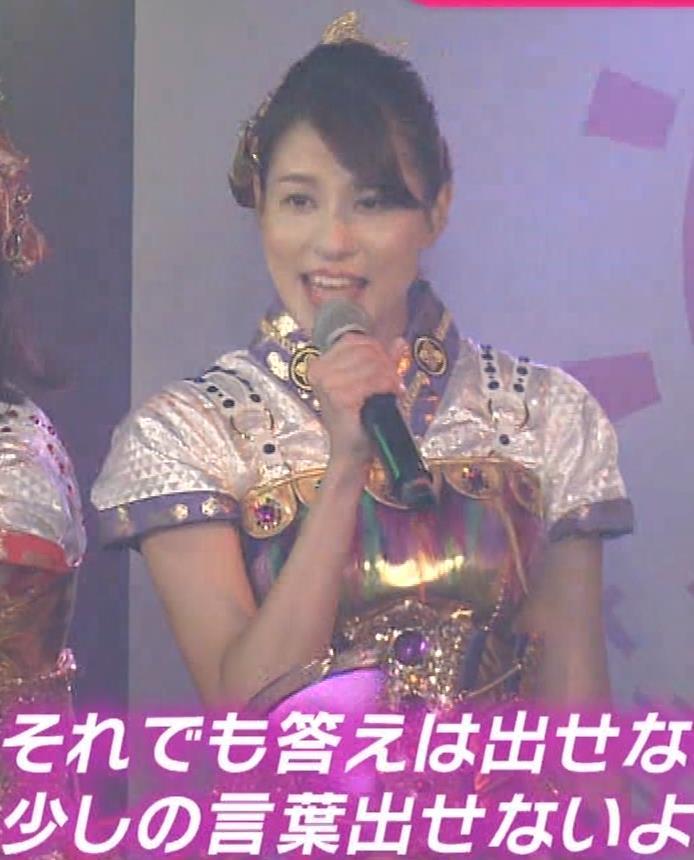 永島優美アナ ももクロ高城れに役キャプ・エロ画像