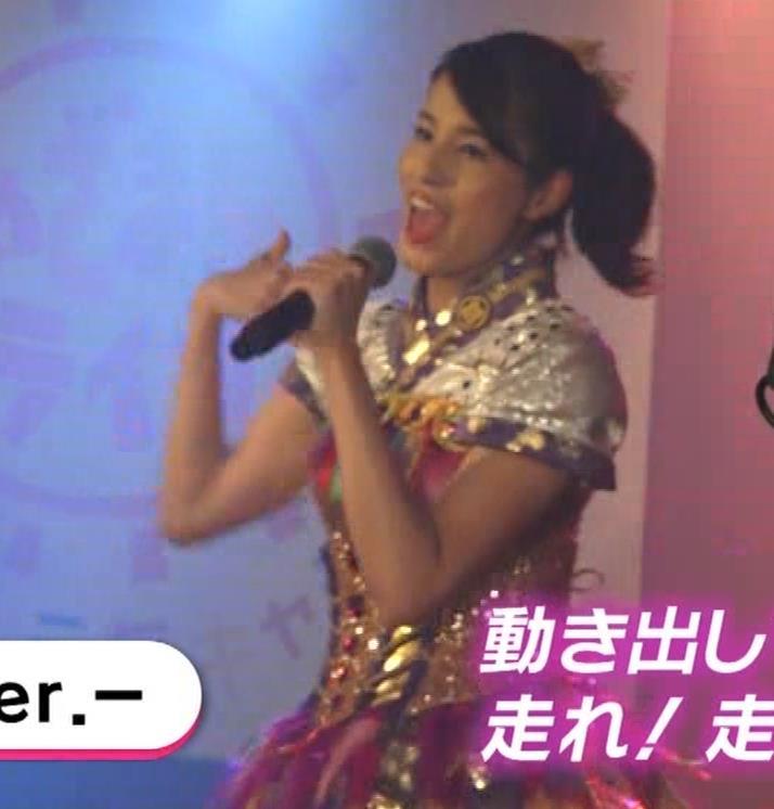 永島優美アナ ももクロ高城れに役キャプ・エロ画像11