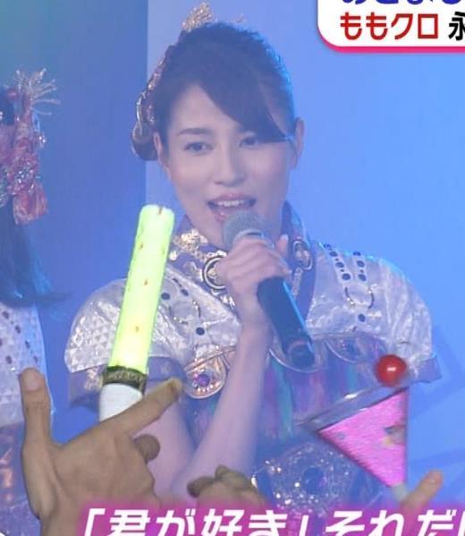 永島優美 ももクロ高城れに役キャプ画像(エロ・アイコラ画像)