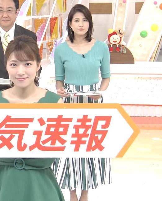 永島優美アナ ♡ニットおっぱい♡キャプ・エロ画像2