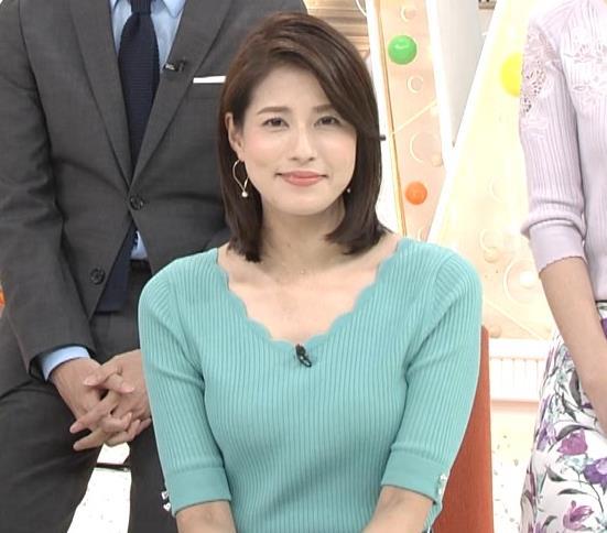 永島優美アナ ♡ニットおっぱい♡キャプ・エロ画像6