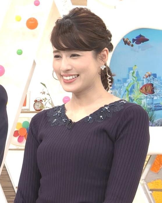 永島優美アナ ◆ニット乳◆キャプ・エロ画像3