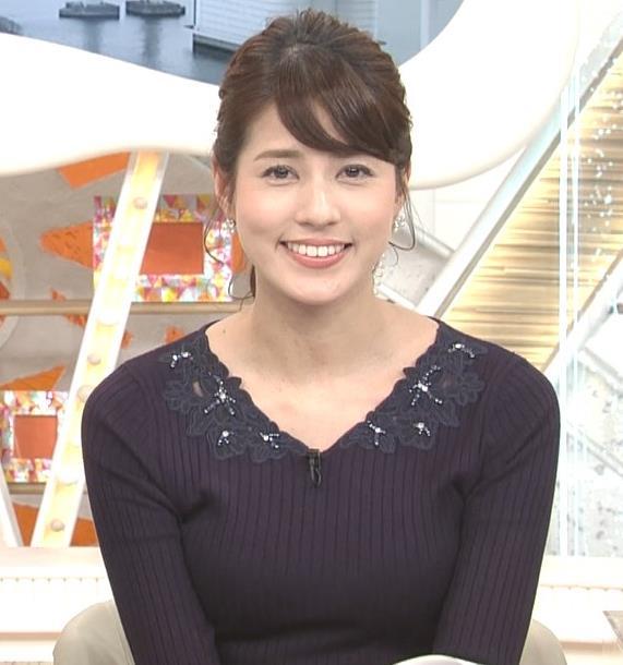 永島優美アナ ◆ニット乳◆キャプ・エロ画像5