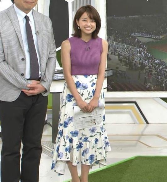 中川絵美里 かわいいうえに、ニットおっぱいがエロいキャプ・エロ画像2