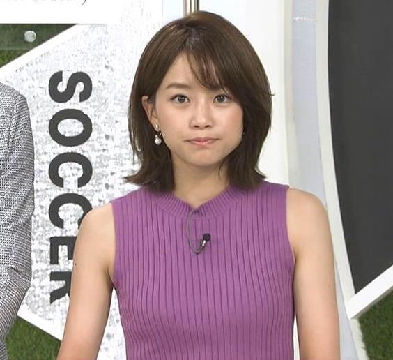 中川絵美里 かわいいうえに、ニットおっぱいがエロいキャプ・エロ画像4