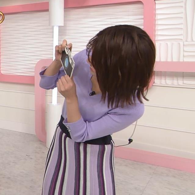 中川絵美里アナ ニット乳キャプ・エロ画像4