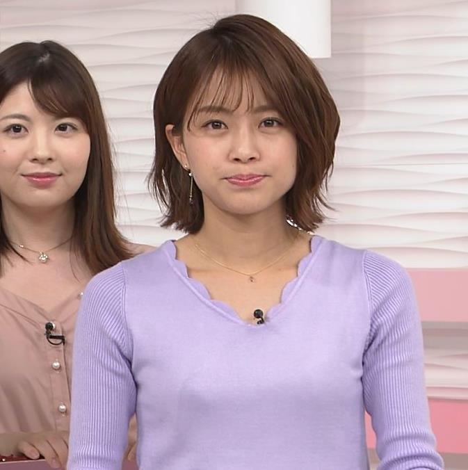 中川絵美里アナ ニット乳キャプ・エロ画像8