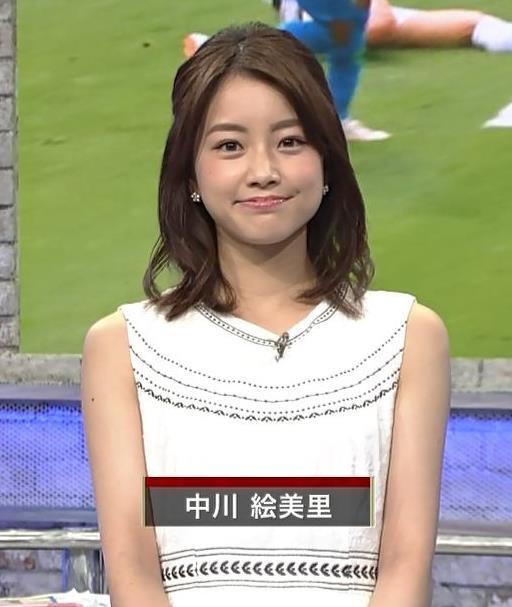 中川恵美理アナ セント・フォースの激カワフリーアナキャプ・エロ画像