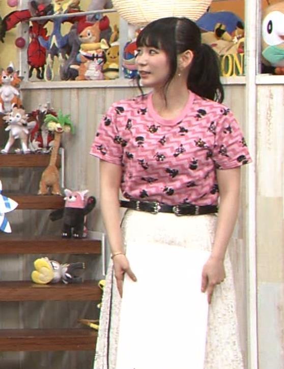 中川翔子 Tシャツおっぱいキャプ・エロ画像11