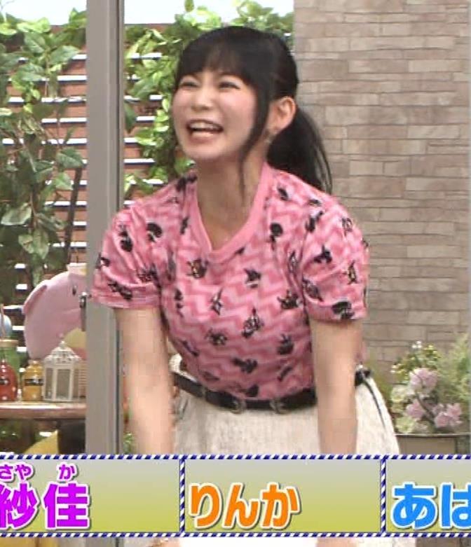中川翔子 Tシャツおっぱいキャプ・エロ画像6