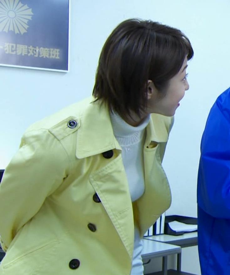 中村静 サスペンスドラマで乳揺れ(GIF動画)キャプ・エロ画像