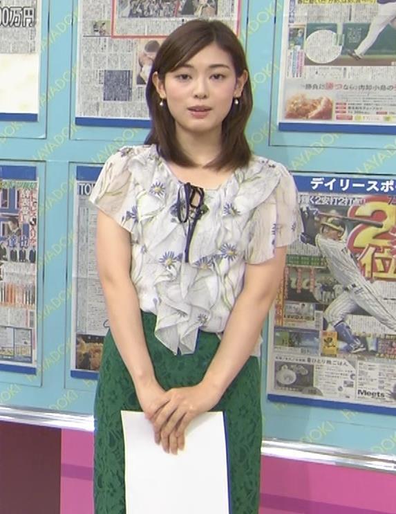 中西悠理アナ TBS 「はやドキ!」 よりキャプ・エロ画像