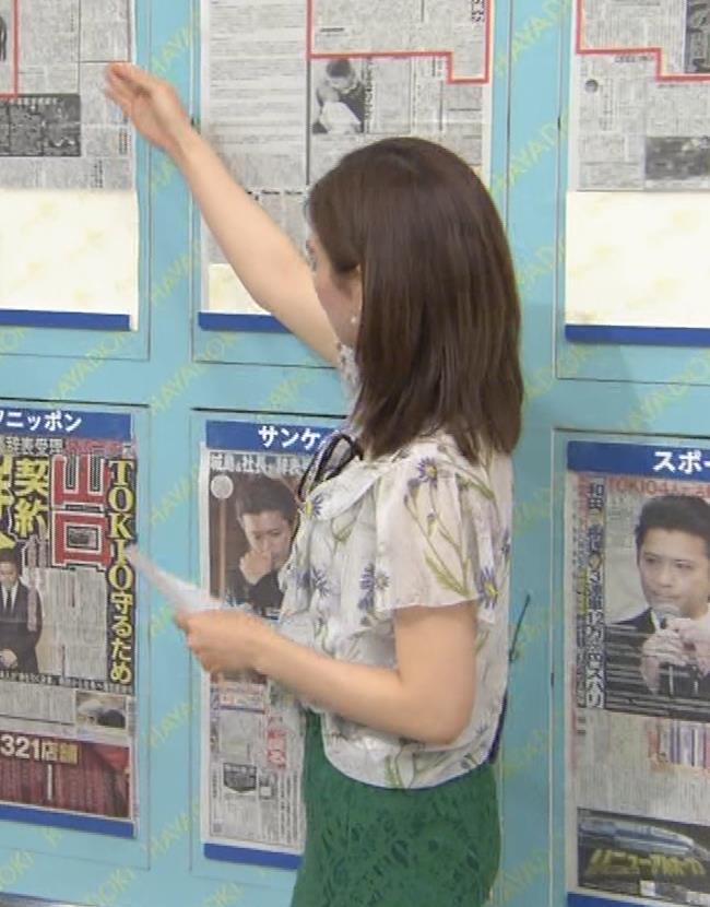 中西悠理アナ TBS 「はやドキ!」 よりキャプ・エロ画像2