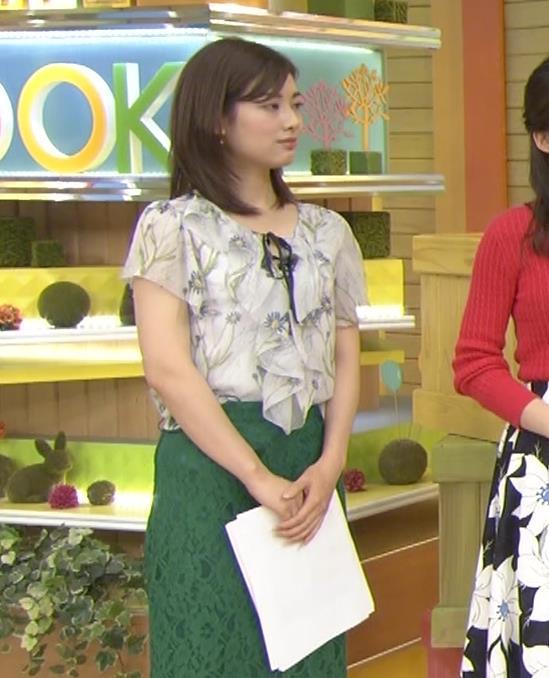 中西悠理アナ TBS 「はやドキ!」 よりキャプ・エロ画像3