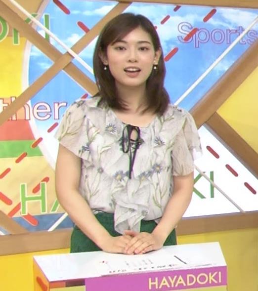 中西悠理アナ TBS 「はやドキ!」 よりキャプ・エロ画像4
