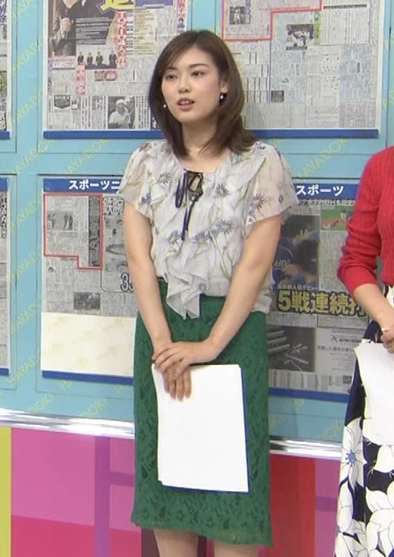 中西悠理アナ TBS 「はやドキ!」 よりキャプ・エロ画像7