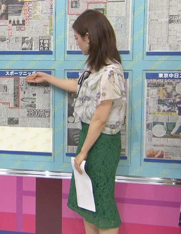 中西悠理アナ TBS 「はやドキ!」 よりキャプ・エロ画像8