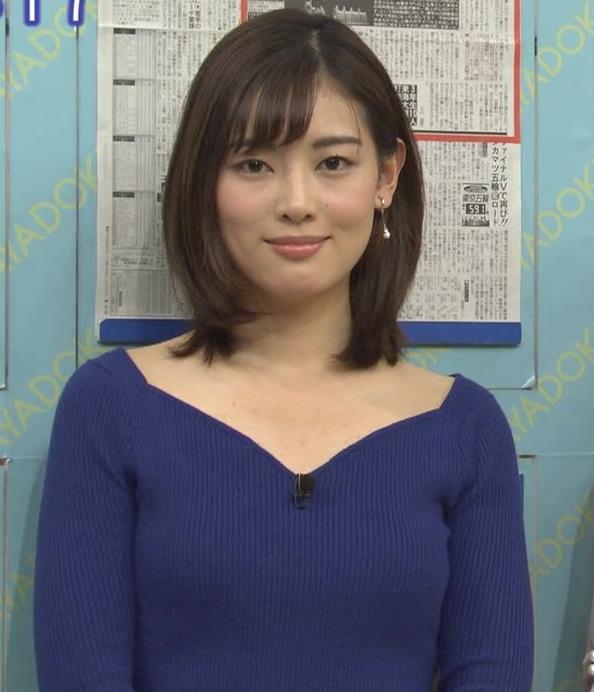 中西悠理アナ セクシーニットキャプ・エロ画像7