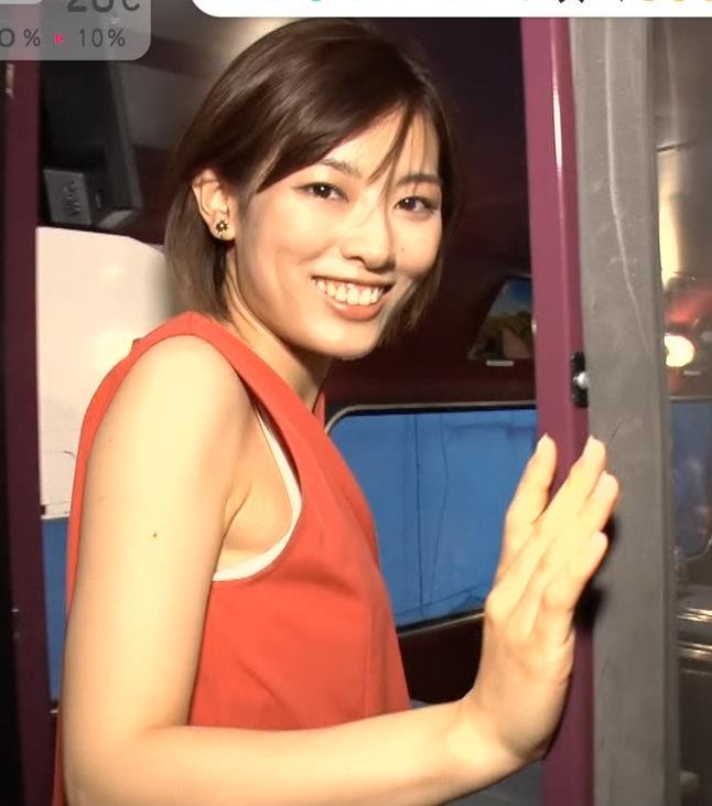 中西悠理 美人アナの横乳キャプ・エロ画像5