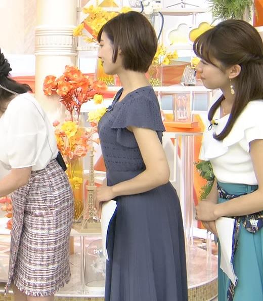 中西悠理 美人アナの横乳キャプ・エロ画像8