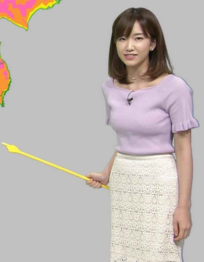 中西希 ニット乳 Oha!4気象予報士キャプ・エロ画像12