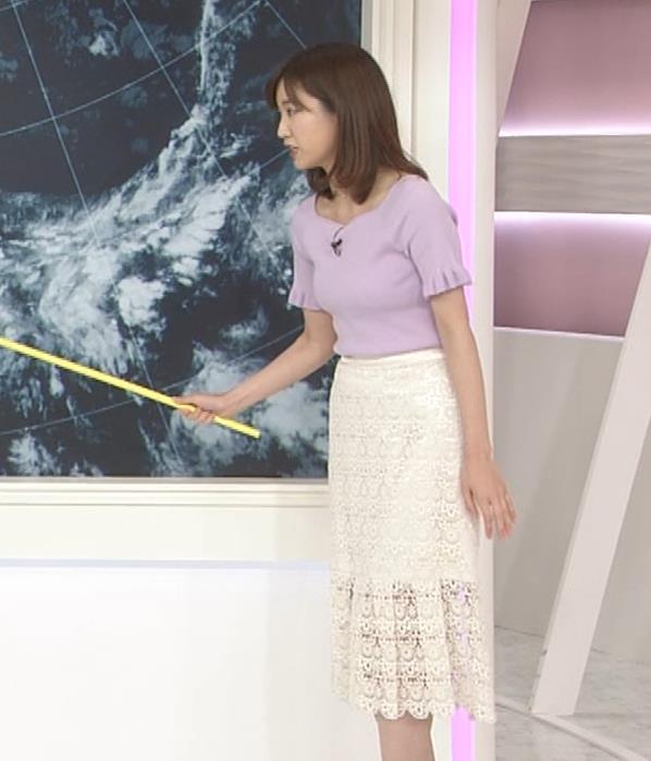 中西希 ニット乳 Oha!4気象予報士キャプ・エロ画像7