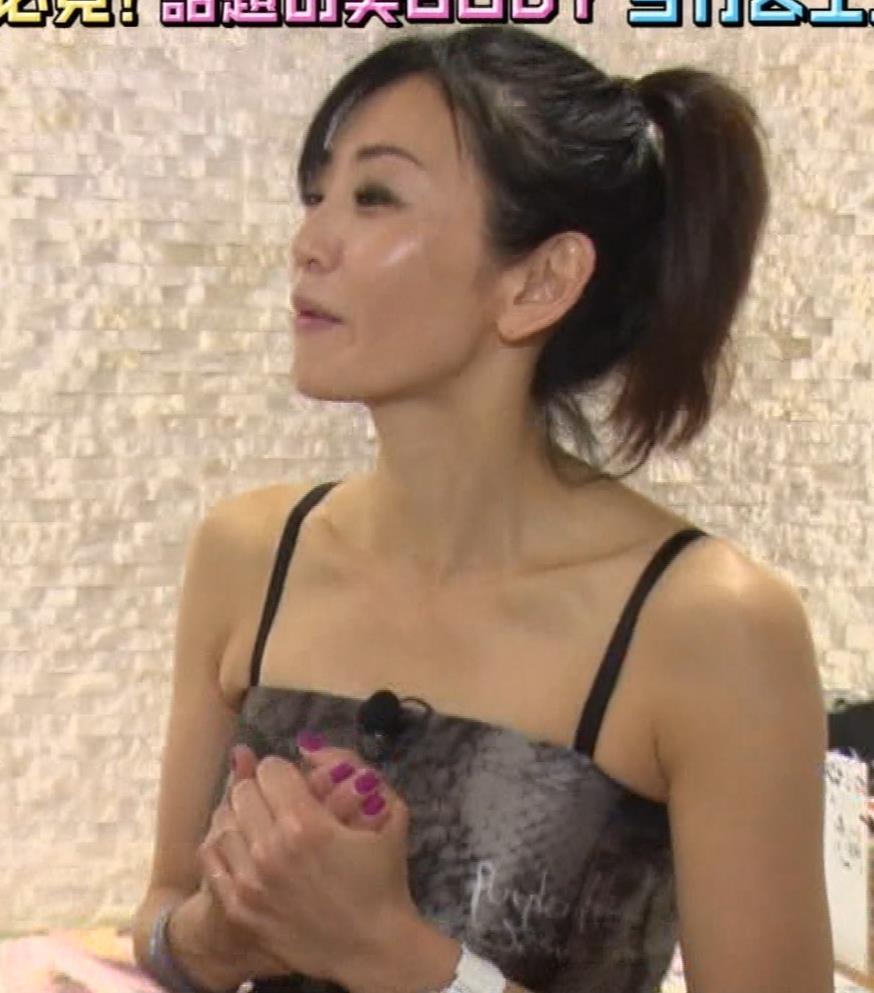中島史恵 ヨガのエロい衣装キャプ・エロ画像7