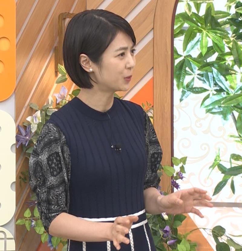 夏目三久 タイトな衣装キャプ・エロ画像2