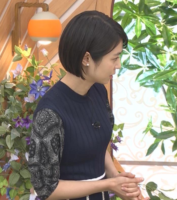 夏目三久 タイトな衣装キャプ・エロ画像3