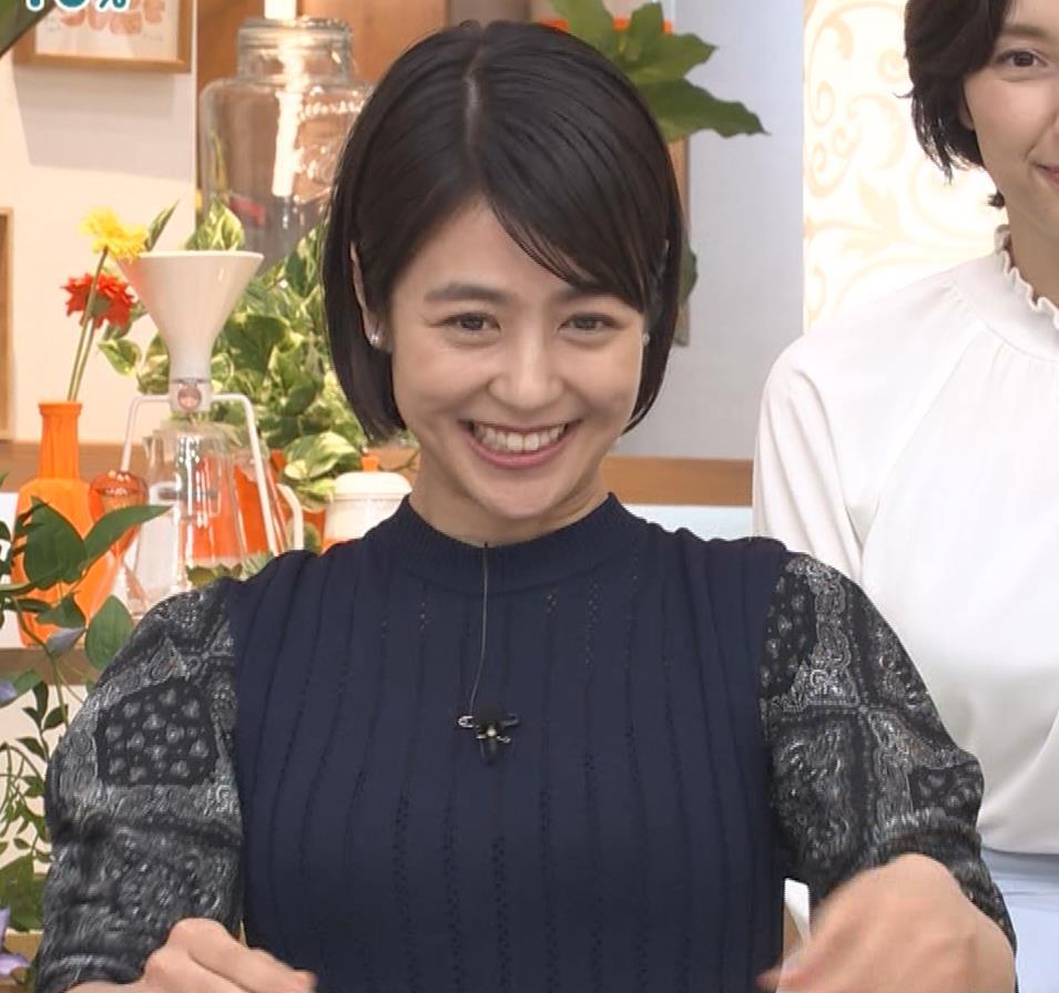 夏目三久 タイトな衣装キャプ・エロ画像5