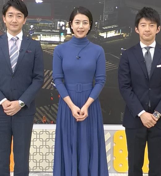 夏目三久アナ エロいピチピチニットキャプ・エロ画像