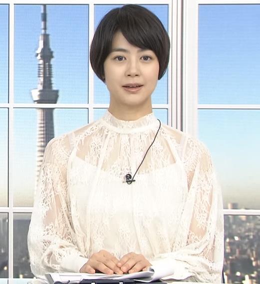夏目三久 透け透けレース衣装キャプ・エロ画像4