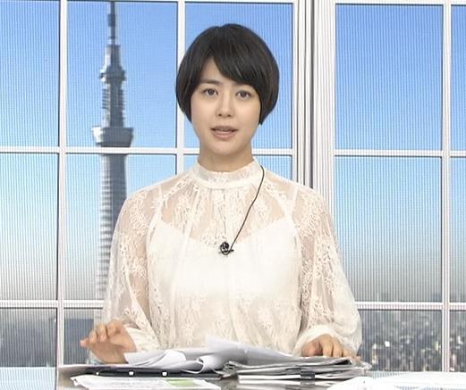 夏目三久 透け透けレース衣装キャプ・エロ画像5