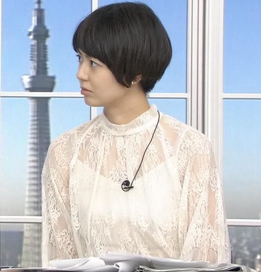 夏目三久 透け透けレース衣装キャプ・エロ画像6
