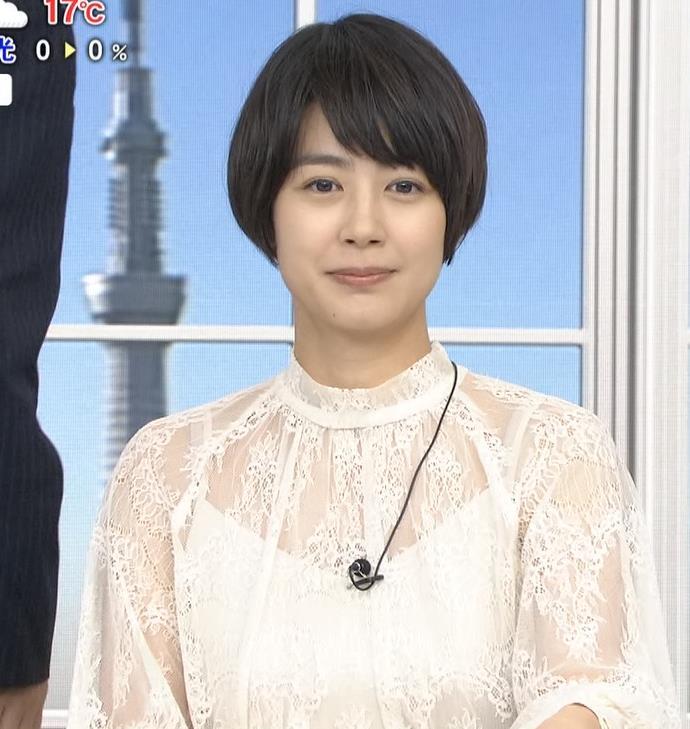 夏目三久 透け透けレース衣装キャプ・エロ画像7
