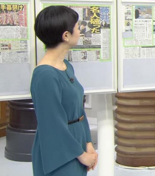 夏目三久 胸のふくらみキャプ画像(エロ・アイコラ画像)