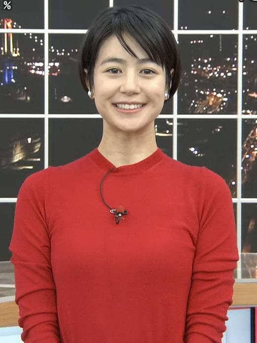 夏目三久アナ ぴったりニットキャプ・エロ画像2
