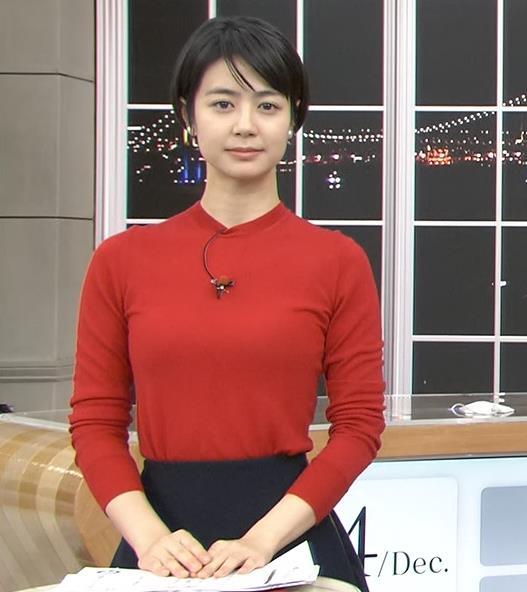夏目三久アナ ぴったりニットキャプ・エロ画像6