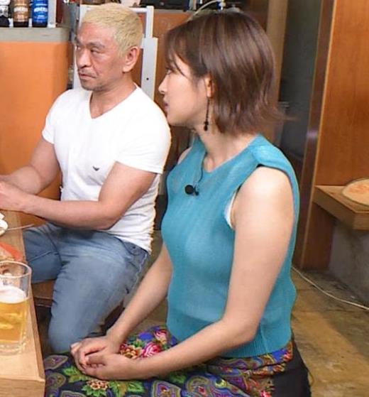 夏菜 巨乳タンクトップキャプ画像(エロ・アイコラ画像)