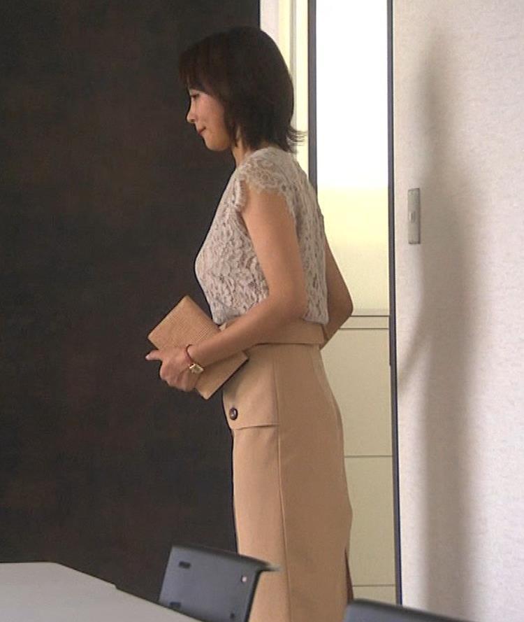夏菜 横乳と横尻キャプ・エロ画像4