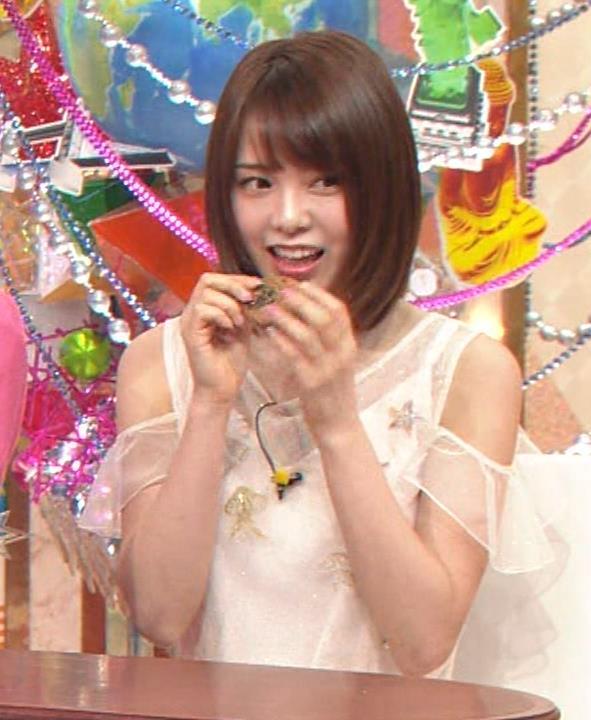 西村歩乃果 すごくかわいいアイドルの食べるところキャプ・エロ画像7