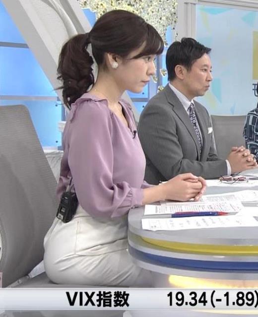 西野志海 横乳&プリケツ!キャプ画像(エロ・アイコラ画像)