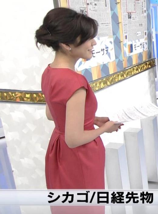西野志海 くびれがすごそうな女子アナキャプ画像(エロ・アイコラ画像)