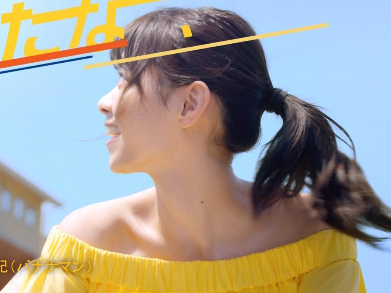 西野七瀬 エロかわいい日焼け止めのCMキャプ・エロ画像