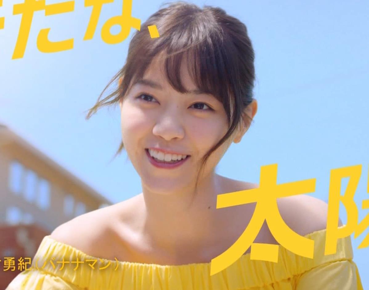 西野七瀬 エロかわいい日焼け止めのCMキャプ・エロ画像2