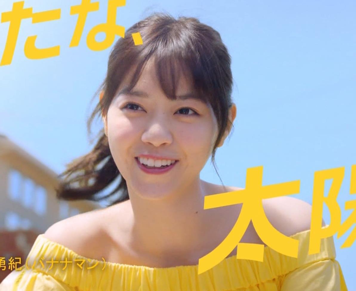 西野七瀬 エロかわいい日焼け止めのCMキャプ・エロ画像3