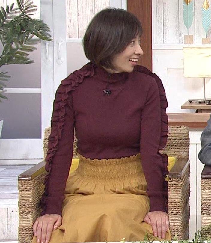 西尾由佳理 ニットおっぱいキャプ・エロ画像12