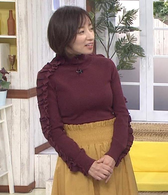 西尾由佳理 ニットおっぱいキャプ・エロ画像3